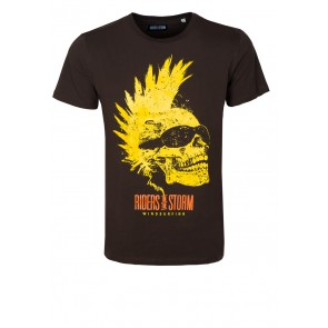 Riders Skull Chocolate T-Shirt