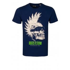 Riders Skull Royal T-Shirt