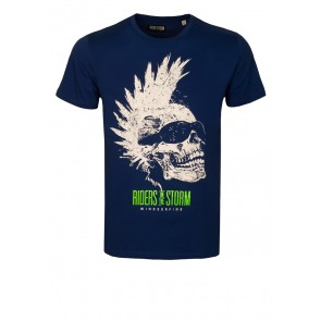 Riders Skull Royal T-Shirt
