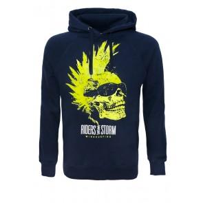 Riders Skull - Navy Hoodie