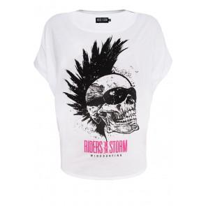 Riders Skull Batwing-Shirt