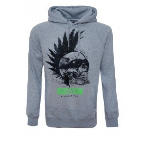 Riders Skull - Light Grey Hoodie